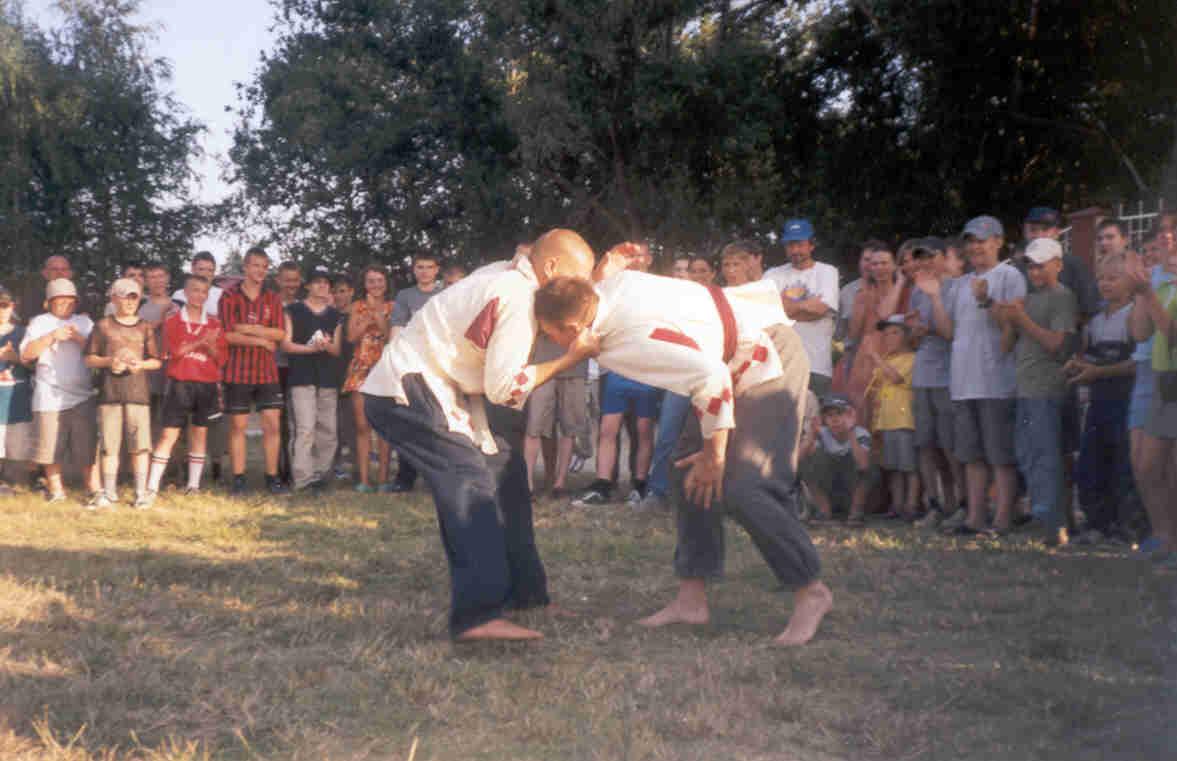 Русская борьба - Традиционная народная восточных славян